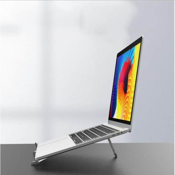 Portable notebook stand aluminum alloy t...
