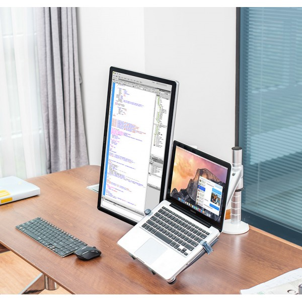 Laptop Stand Computer arm holder Monitor Stand Desktop Office Double monitor stand
