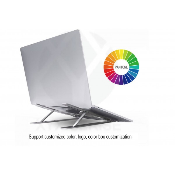 Factory wholesale notebook aluminum alloy cooling computer portable laptop stand