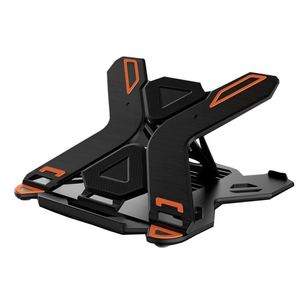Amazon Hot Selling Height Adjustable 360° Rotable  Folding With Mobile Phone Stand Bracket Pad Base laptop stand portable